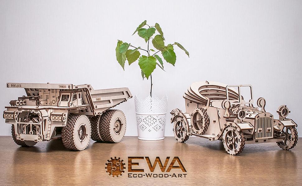 ewa eco wood art model 3d