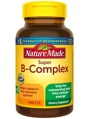 Nature Made Super B-Complex Tablets  for Metabolic Health†