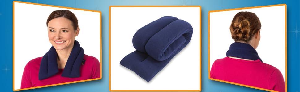 Amazon.com: Sunny Bay almohada de calor para cuello extra ...
