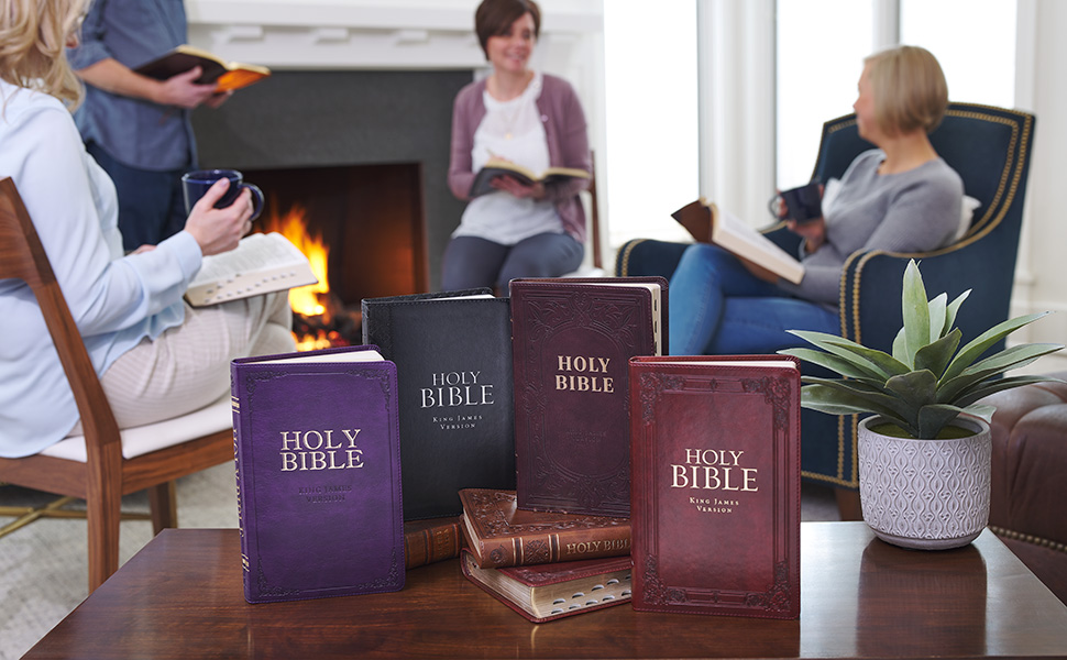 Christian Art Gifts King James Version Deluxe Gift Bible Collection
