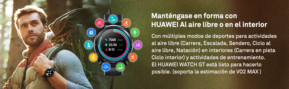 Al aire libre smart watch
