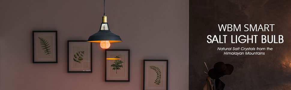 pink salt bulb; night light bulb; salt bulb; smart bulb; wbm smart bulb; natural salt bulb; led bulb