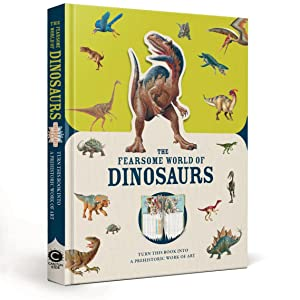 paperscapes dinosaur book