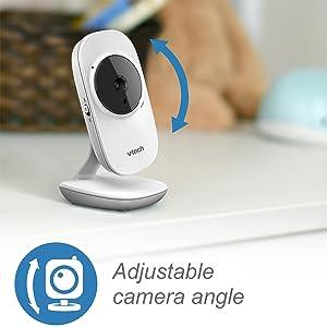 Adjustable camera angle
