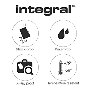 Shock proof weatherproof x-ray temperature resistant microSD card 5 year warranty free uk support