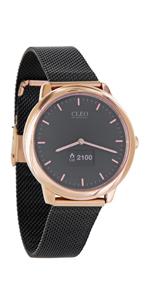 uhr damen touch smartwatch hybrid smart watch frauen smart watch rose gold