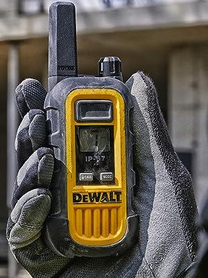 dewalt dxfrs300 dxfrs800 heavy duty walkie talkie two way radios