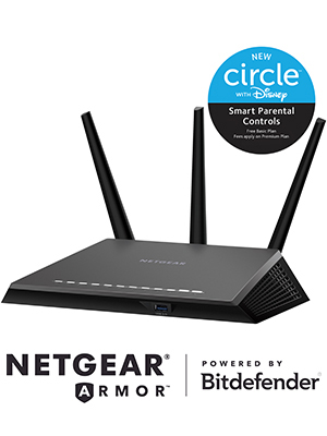 Routeur Wifi intelligent Nighthawk AC2300 – Gigabit Dual Band