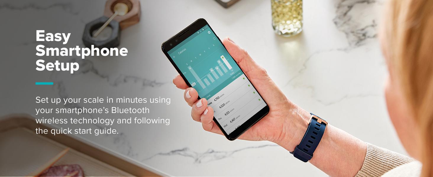 Easy smartphone setup