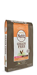 Nutro Adult Dry Dog Food, Grain Free Dog Food, Protein, Food for Dogs, Chicken, High Quality Protein