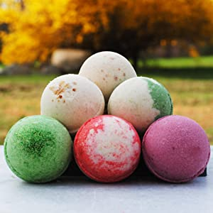 Goat Milk Soap Bath Bombs