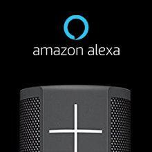 Ultimate Ears Megablast Enceinte sans Fil Portable Connectée, Wifi et Bluetooth, Basses Puissantes, Amazon Alexa Intégrée, Etanche, Batterie 16h,