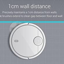 Xiaomi Mi Robot Vacuum with Precise Distance Sensor System Powerful Suction LDS Path Planning 5200mAh Battery for Hard-Floor N Low Thin Carpet, White