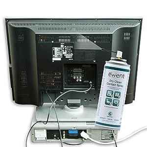 Flujo seco para la limpieza de contactos eléctricos en tarjetas electrónicas / PCBs. Previene la humedad