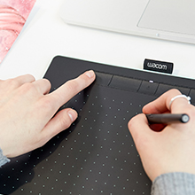 wacom intuos drawing tablet art graphics