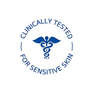 Clinically tested for sensitive skin.