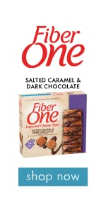 Fiber One Layered Bar Salted Caramel and Dark Chocolate
