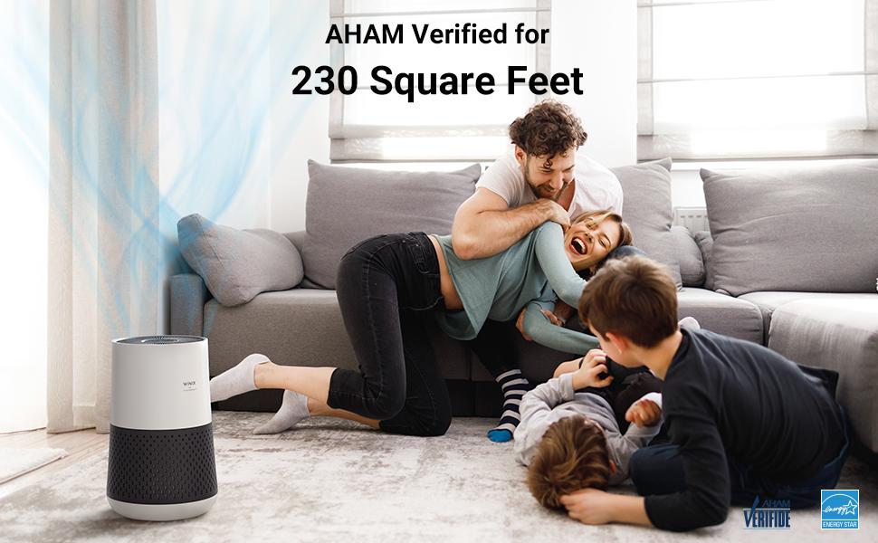Air Purifier, A231, Winix, AHAM, 230 Square Feet