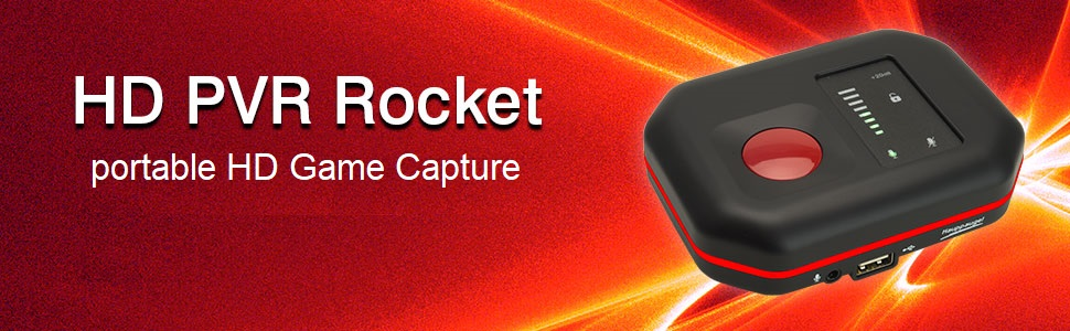 Hauppauge 01527 Hd Pvr Rocket Portabler Stand Alone Hd Computer Zubehör