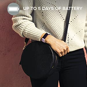 Up to 5 Days of Battery