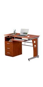 Mahogany Computer workstation