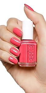 coral nail polish, coral nail varnish, coral nails