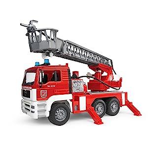 Bruder, Bruder toys, Man fire engine, fire engine
