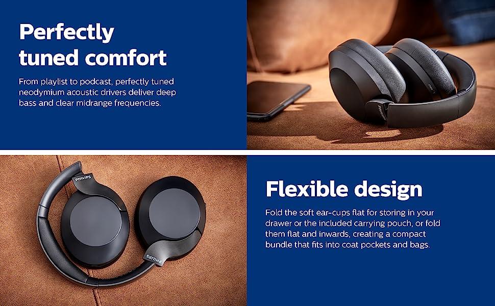 comfortable headset, folding headset, foldable headphone, folding headphone