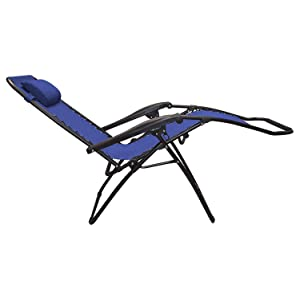 Amazon Com Caravan Sports Infinity Zero Gravity Chair Blue