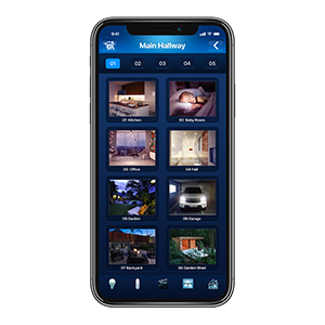 security cameras DIY monitoring home center lite