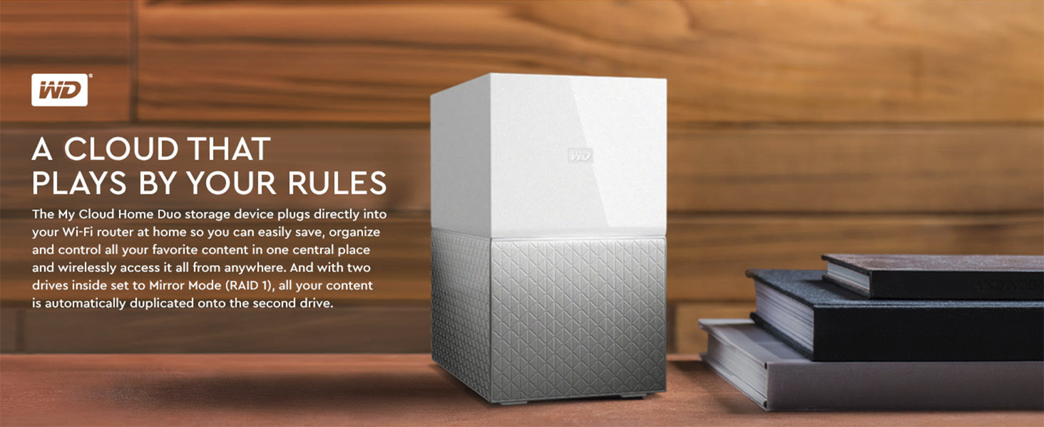 Buy WD 16TB My Cloud Home DUO Personal Cloud Storage I Buy Hard Drive in UAE I Redonstore.com