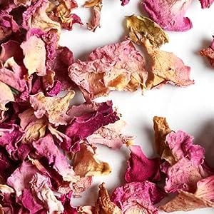 Sono ideali come tè alla rosa, petali di rosa o petali di rosa.