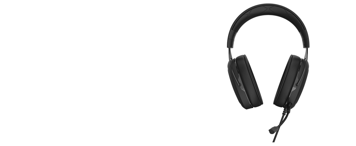 HS50 PRO STEREO Gaming Headset — Carbon