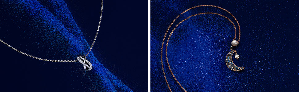 Swarovski Bracelet Symbolic Tree of Life Bleu M/étal Rhodi/é