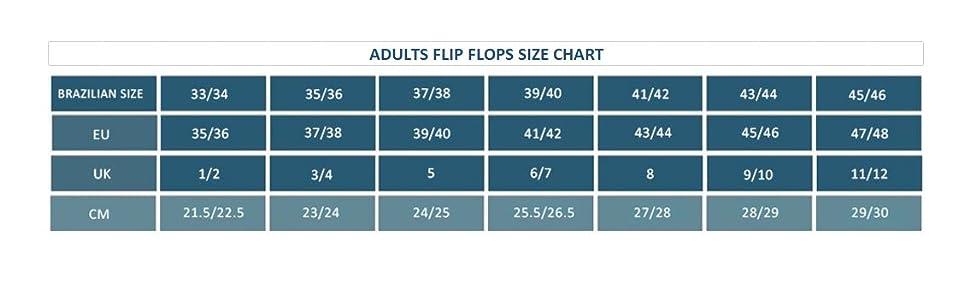 flip flops;sandals;summer;havaianas;hawaianas;size;sizing;sizes