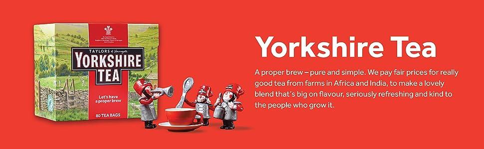 Yorkshire Tea Lets have a proper brew
