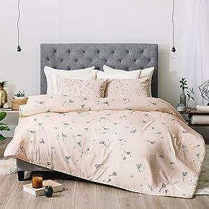 King Neutral Deny Designs Marta Barragan Camarasa Mosaic Marbled Art Deco II Comforter Set with Pillow Shams