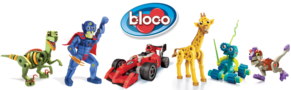 Bloco Toys Velociraptor Super Hero Race Car Girafe Robot Invasion Dinosaur Construction Toy Building