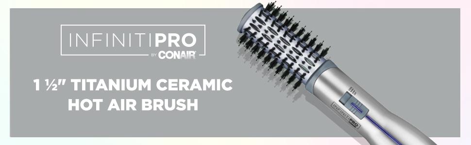 john frieda hot air brush 1 1/2 inch hair curler dryer REVLON ONE STEP DRYER BRUSH