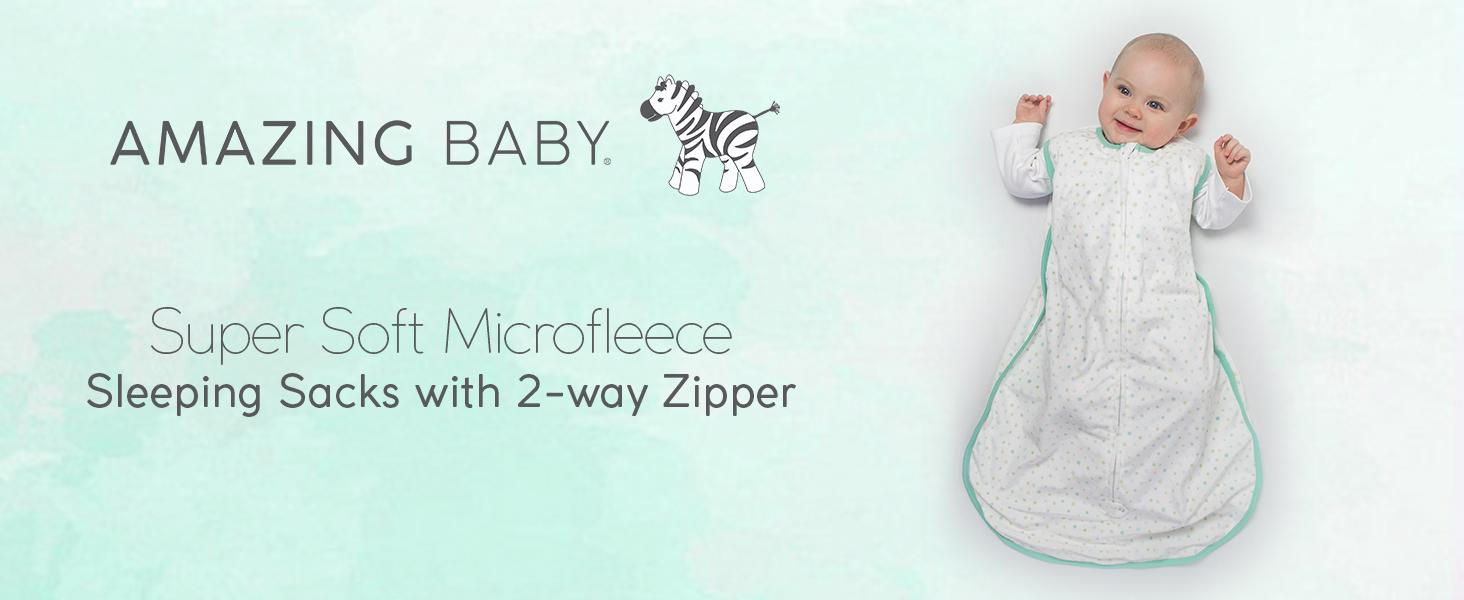 Essentials 2-Pack Microfleece Baby Sleep Sack Unisex beb/é