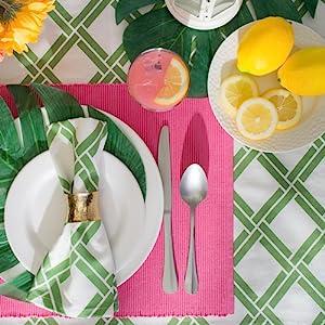 lattice fabric,lattice outdoor,tablecloth 8 seats,bamboo lattice,everyday tablecloth,picnic table