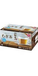 AGF新茶人麦茶スティック100