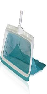 NOBRAND /Éplucheur de feuilles pour piscine int/érieure de piscine pour nettoyer la surface de bain /à remous spas et piscines bleu