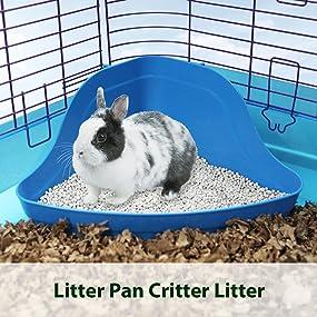 potty litter, small animal litter, small animal bedding, pet litter, small animal critter litter