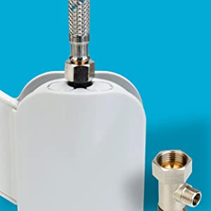 Brass Core T-valve and High Quality All Metal Connections