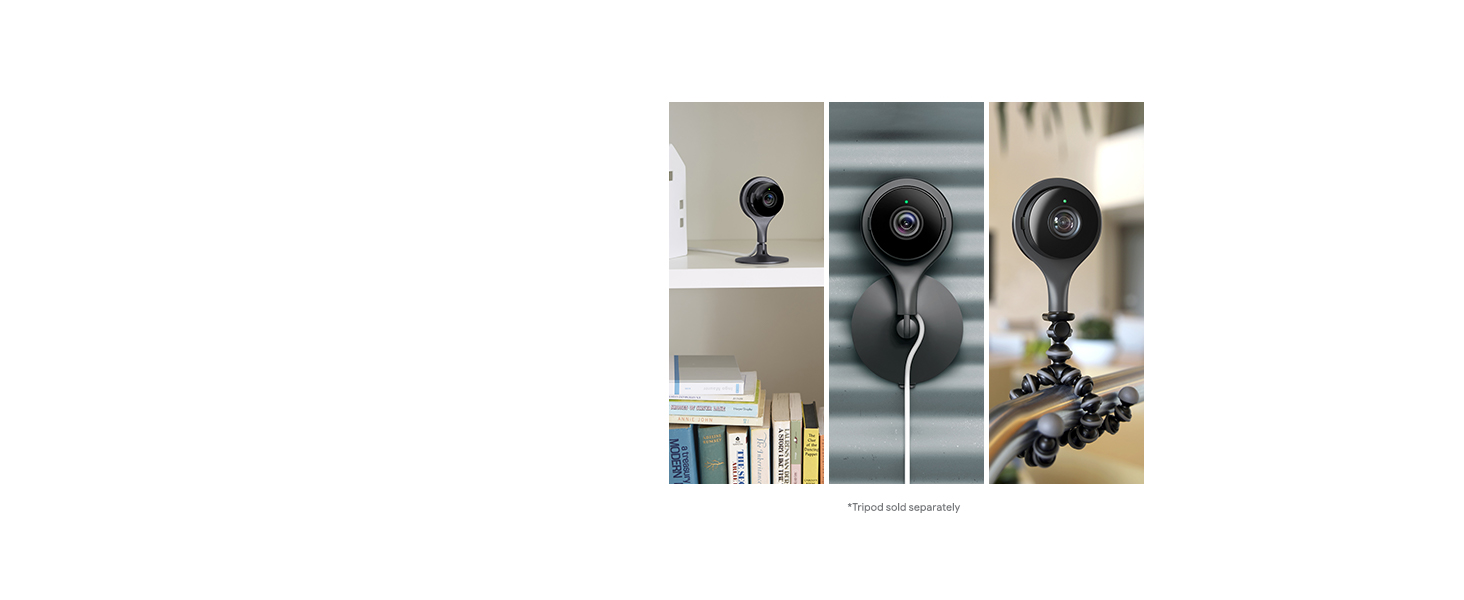 Flexible mounting google camera nest indoor