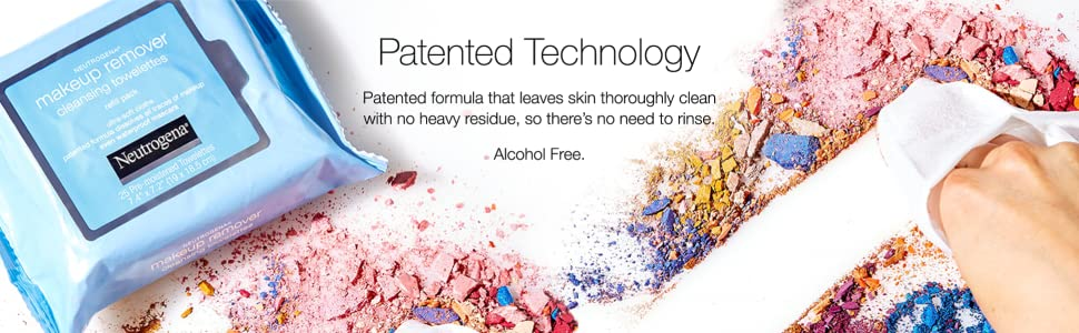 Patented Makeup Removing Technology