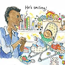 smiling, baby, infant, crib, father, dad, words, babbling, life