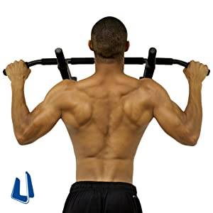 Amazon Com Ultimate Body Press Wall Mount Pull Up Bar With 4 Grip