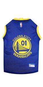 0368edfbae2 Amazon.com   NBA GOLDEN STATE WARRIORS DOG Jersey